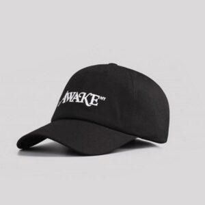 Awake Classic Logo Dad Hat Black