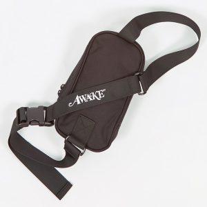 Awake Classic Logo Sidebag Black 1