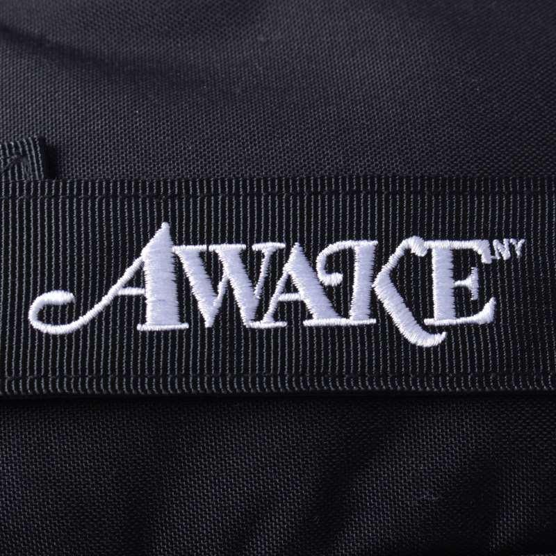 Awake Classic Logo Sidebag Black 3