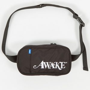 Awake Classic Logo Sidebag Black