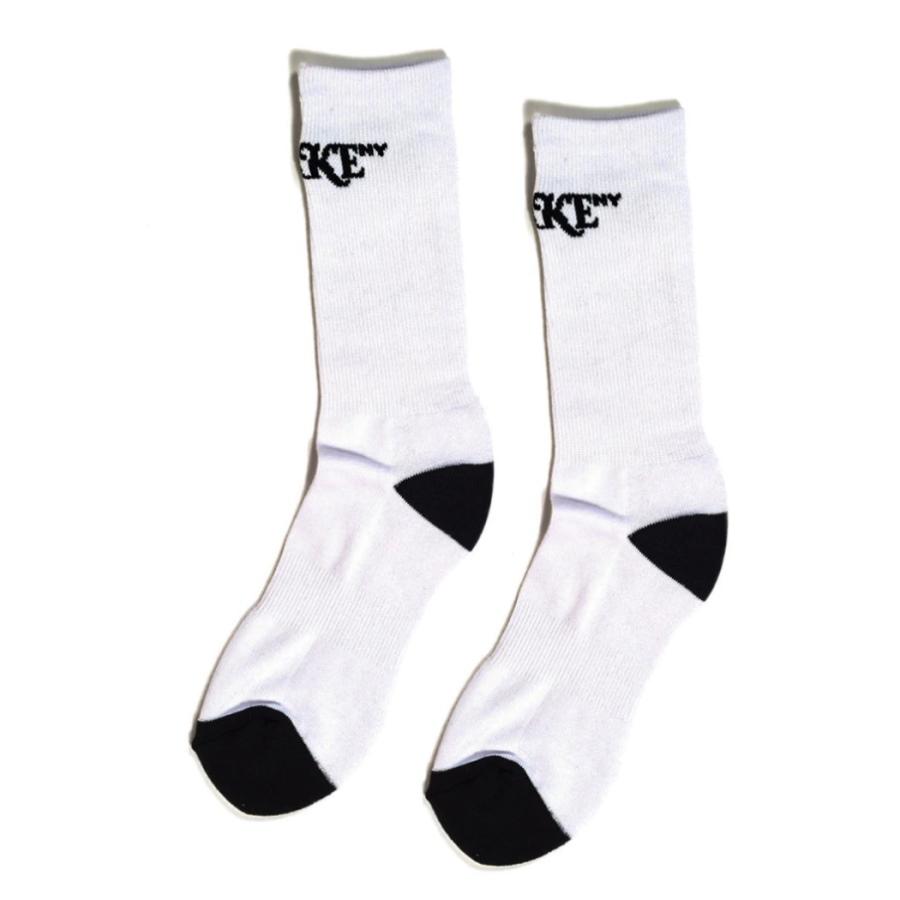 Awake Classic Logo Socks White
