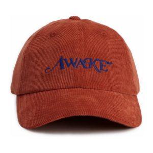Awake Corduroy Classic Logo Dad Hat Orange