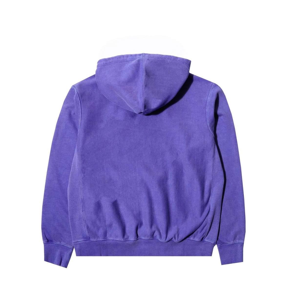 Awake Embroidered Logo Hoodie Purple 1