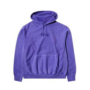 Awake Embroidered Logo Hoodie Purple