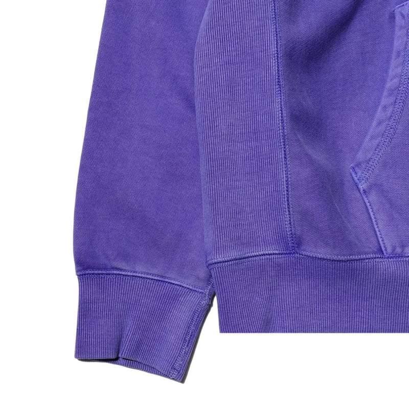 Awake Embroidered Logo Hoodie Purple 6