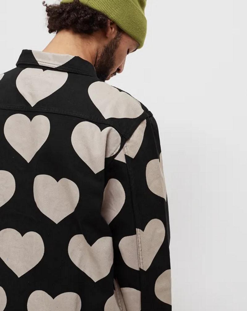 Awake Hearts Harrington Jacket Black 3