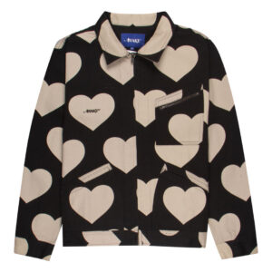 Awake Hearts Harrington Jacket Black