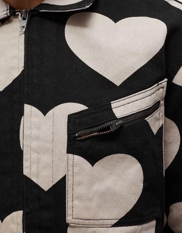 Awake Hearts Harrington Jacket Black 6