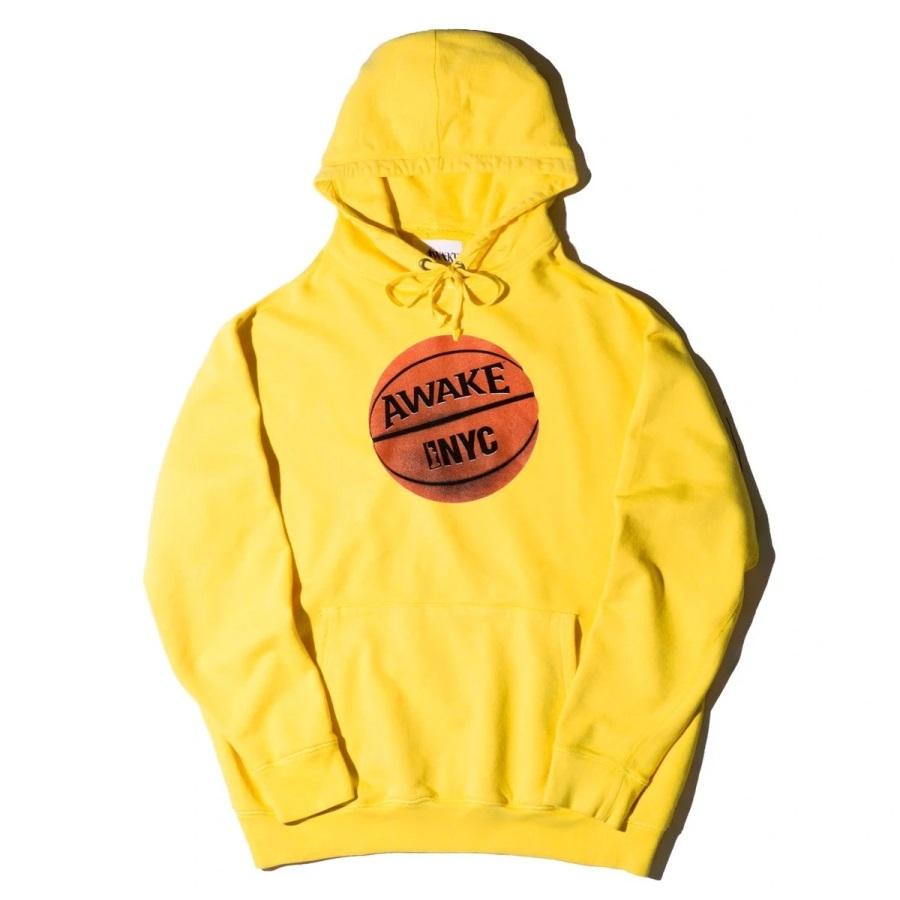 Awake Hoop Hoodie Yellow