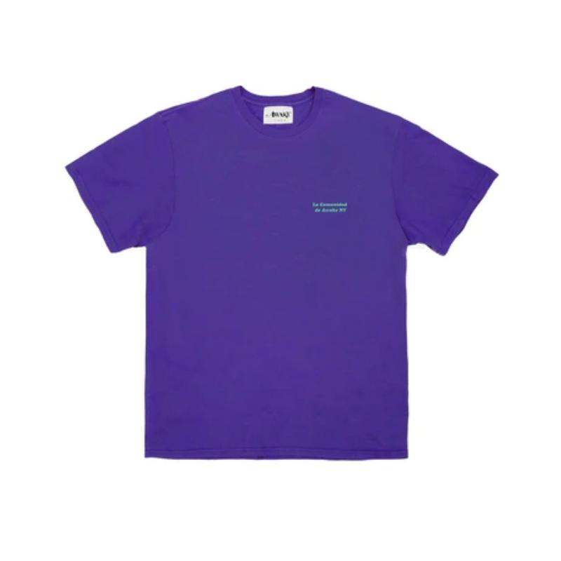 Awake La Comunidad Tee Purple