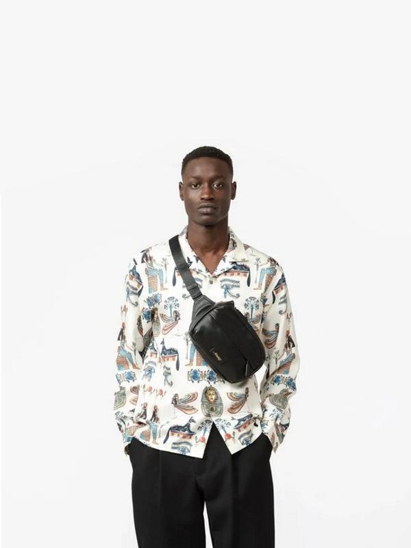 Awake Leather Sidebag Black 3