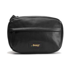 Awake Leather Sidebag Black