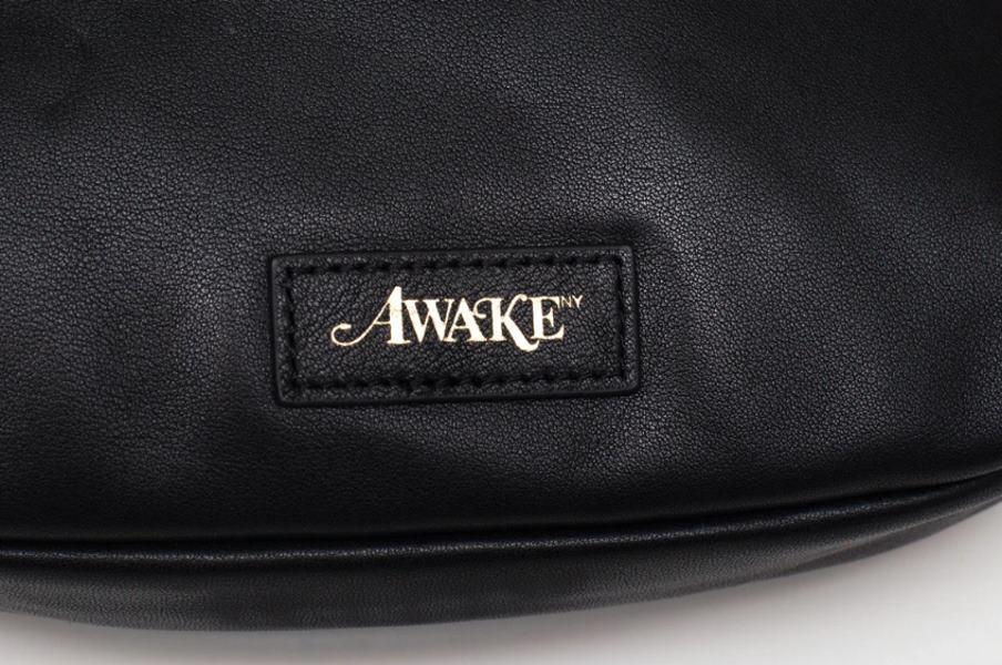 Awake Leather Sidebag Black 4