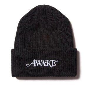 Awake Logo Beanie Black