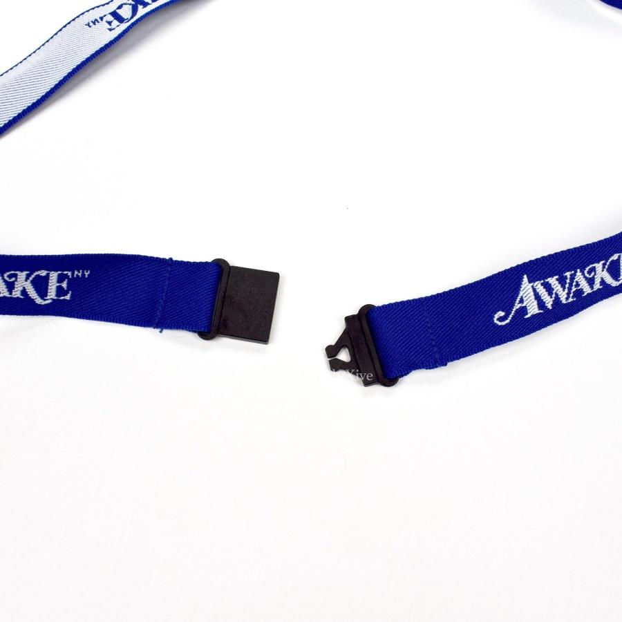 Awake Logo Lanyard Blue 3