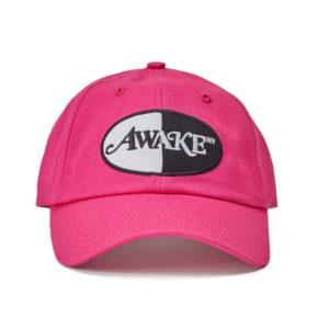 Awake Logo Patch Hat Magenta