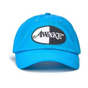 Awake Logo Patch Hat Turquoise