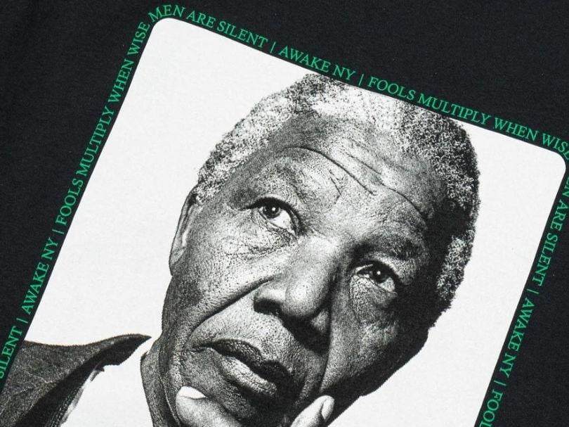 Awake Mandela Tee Black 2