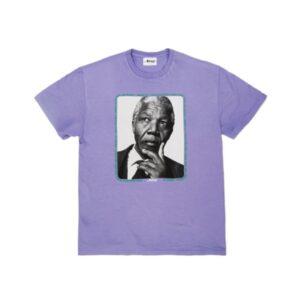 Awake Mandela Tee Purple