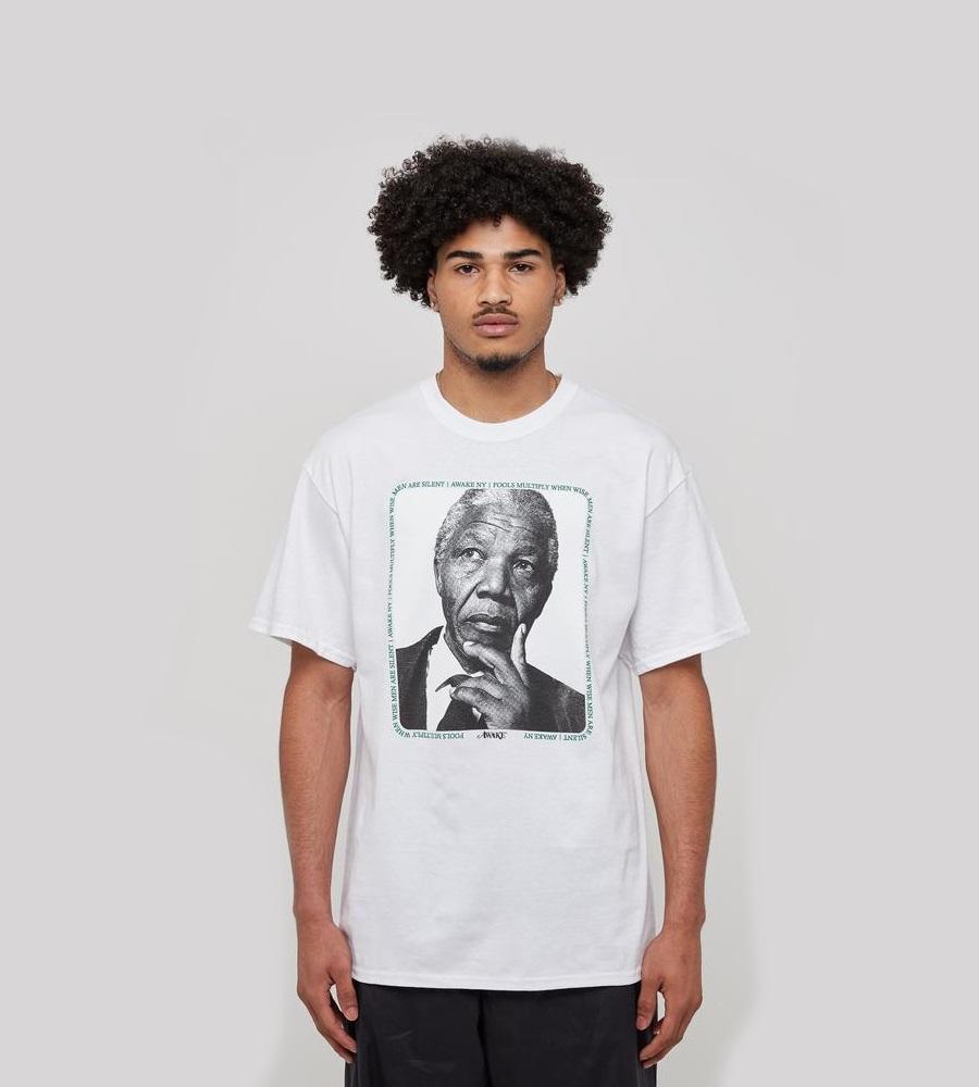 Awake Mandela Tee White 2.1