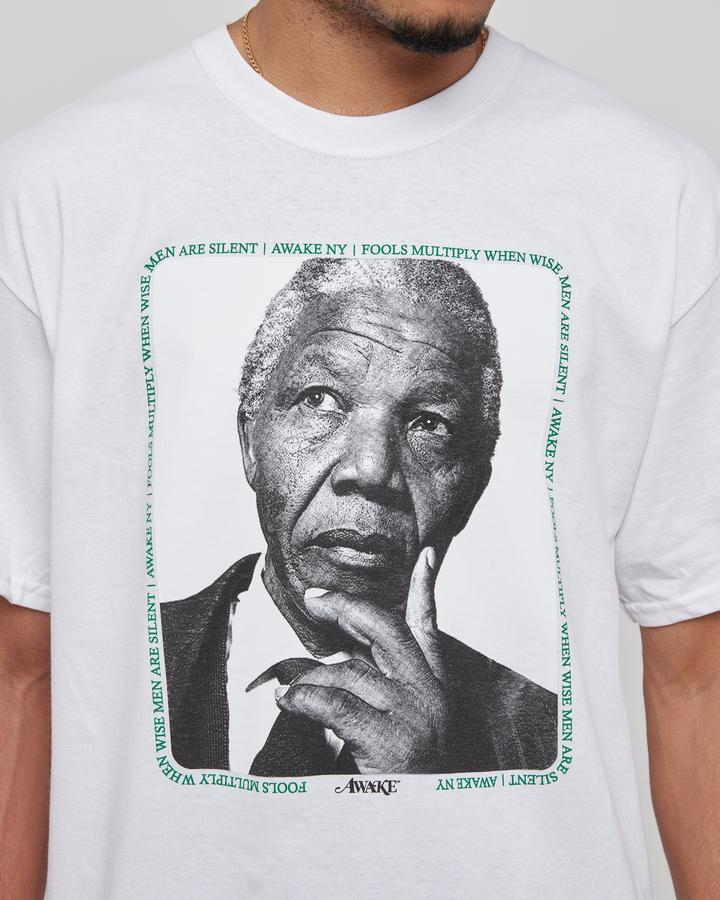 Awake Mandela Tee White 5