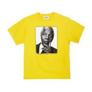 Awake Mandela Tee Yellow