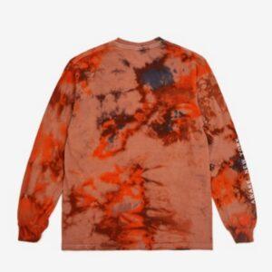 Awake Mother Mary LS Tee Tie Dye Orange 1