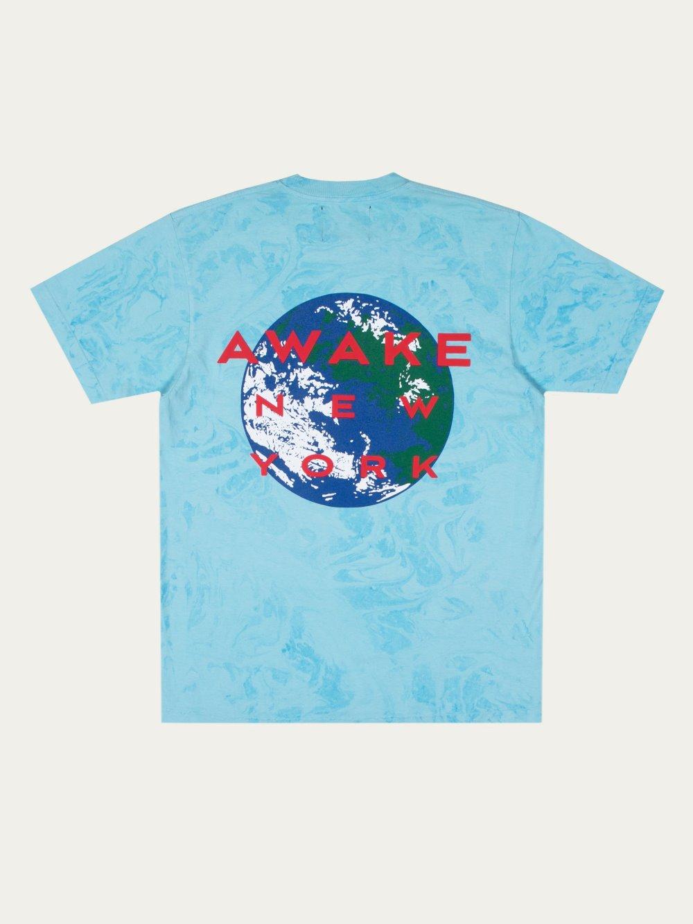 Awake NYX Eco Life Tee Blue 1