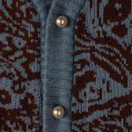Awake Paisley Pearl Button Cardigan Carolina 5.1