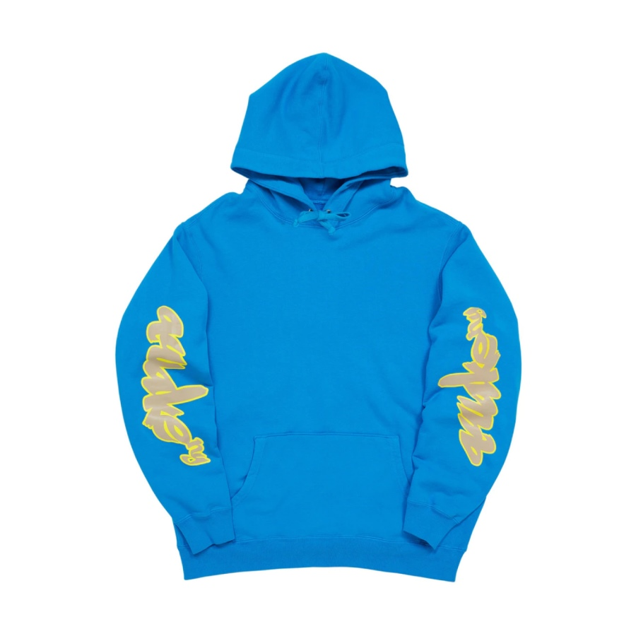 Awake Side Sleeve Logo Hoodie Blue