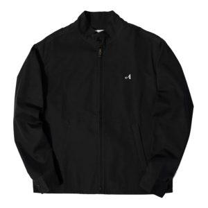 Awake Split Logo Harrington Patch Jacket Black