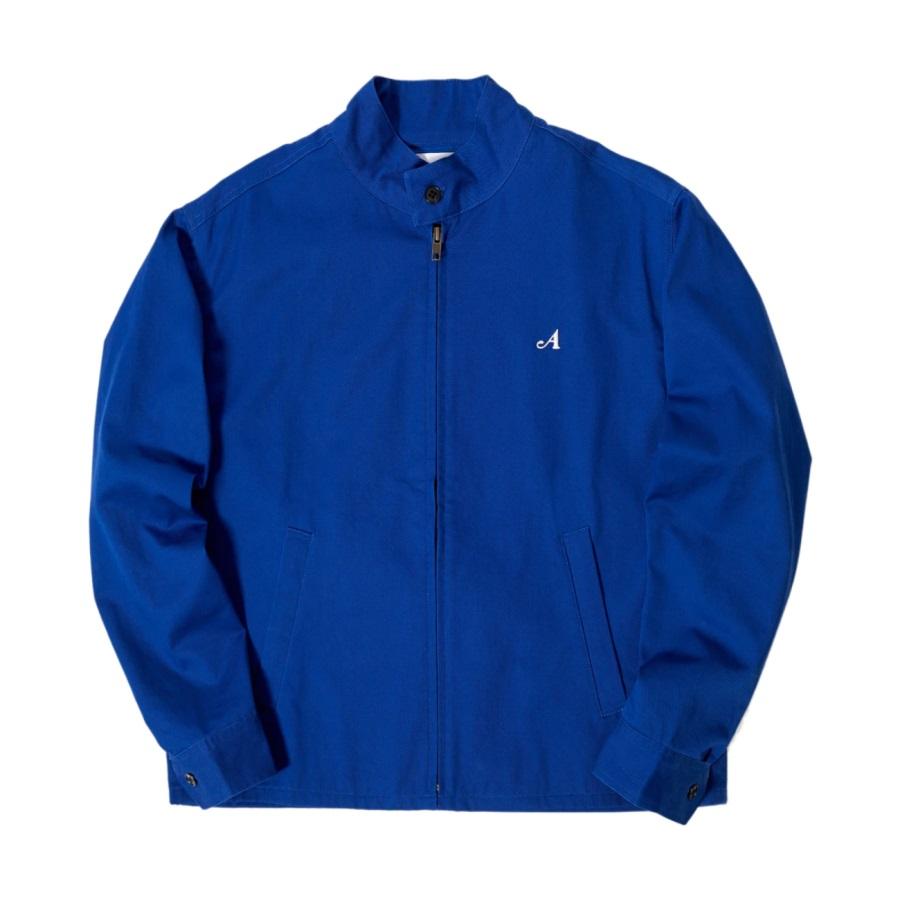 Awake Split Logo Harrington Patch Jacket Blue