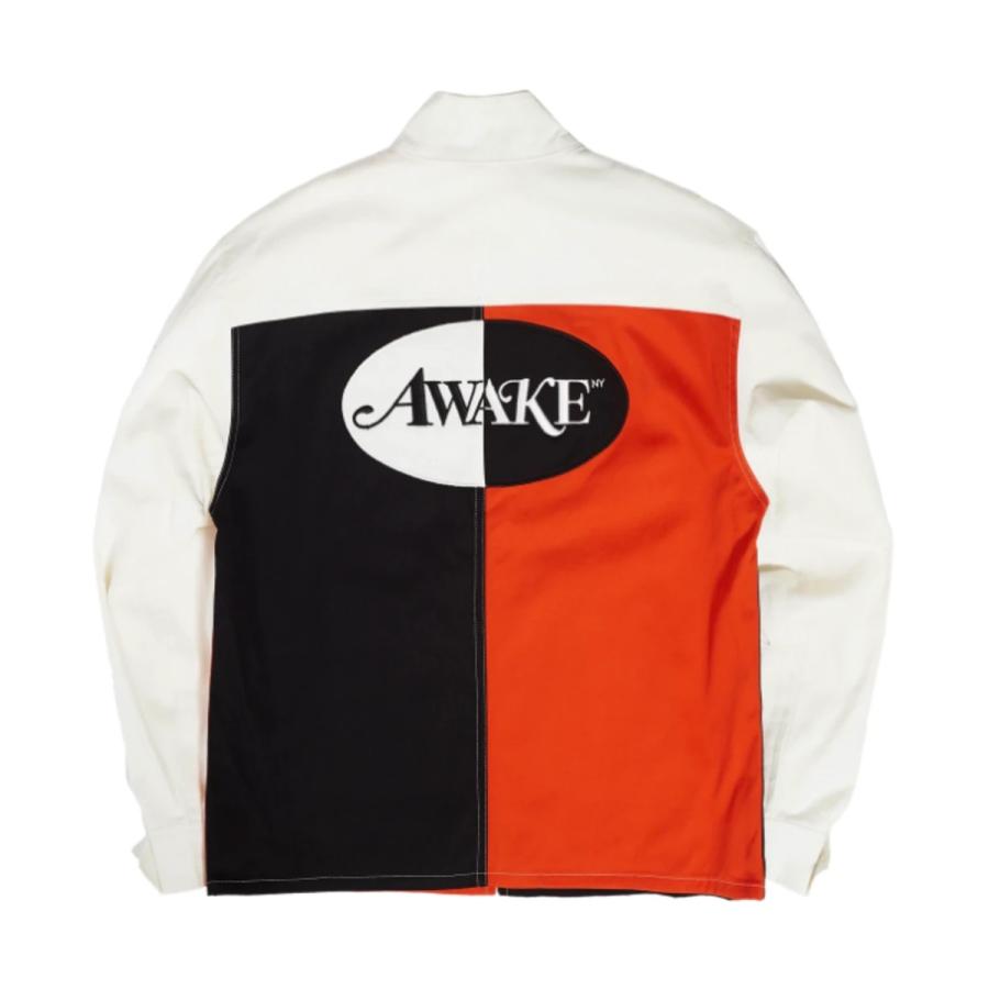 Awake Split Logo Harrington Patch Jacket Multi 1