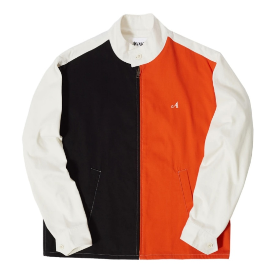 Awake Split Logo Harrington Patch Jacket Multi