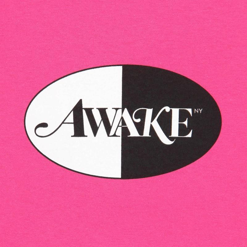 Awake Split Logo Tee Magenta 1