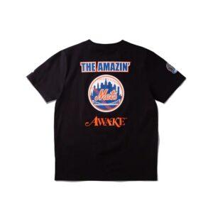 Awake Subway Series Mets T shirt Black 1