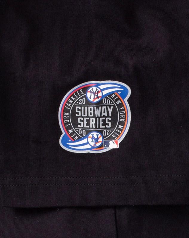 Awake Subway Series Mets T shirt Black 2