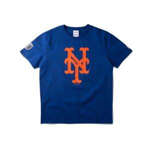 Awake Subway Series Mets T shirt Royal
