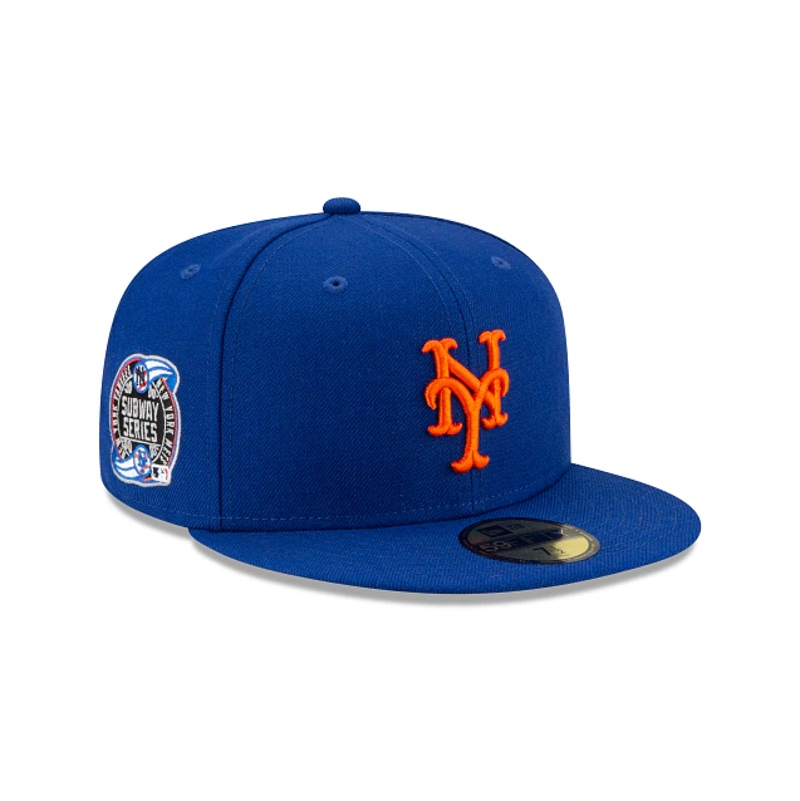 Awake Subway Series New York Mets New Era Fitted Cap Royal 2
