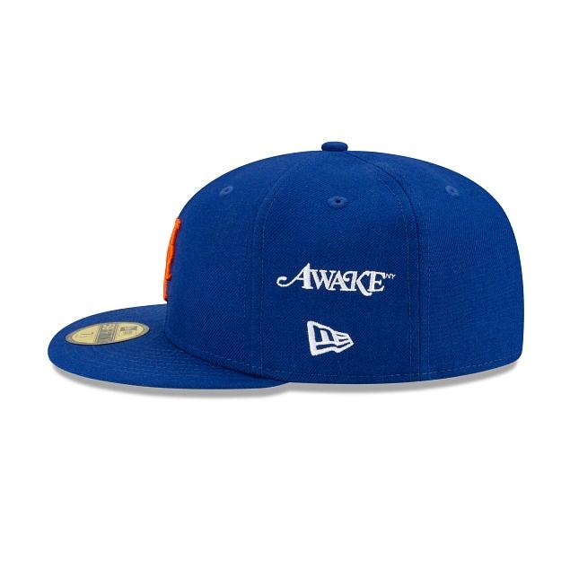 Awake Subway Series New York Mets New Era Fitted Cap Royal 4
