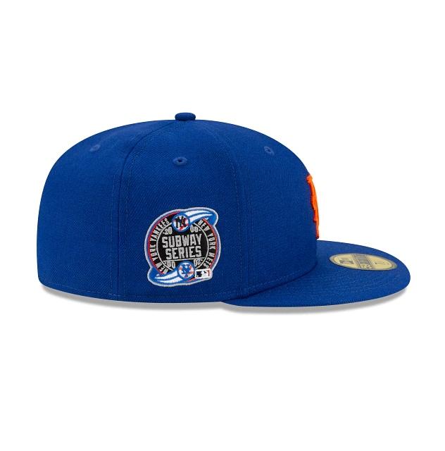 Awake Subway Series New York Mets New Era Fitted Cap Royal 5