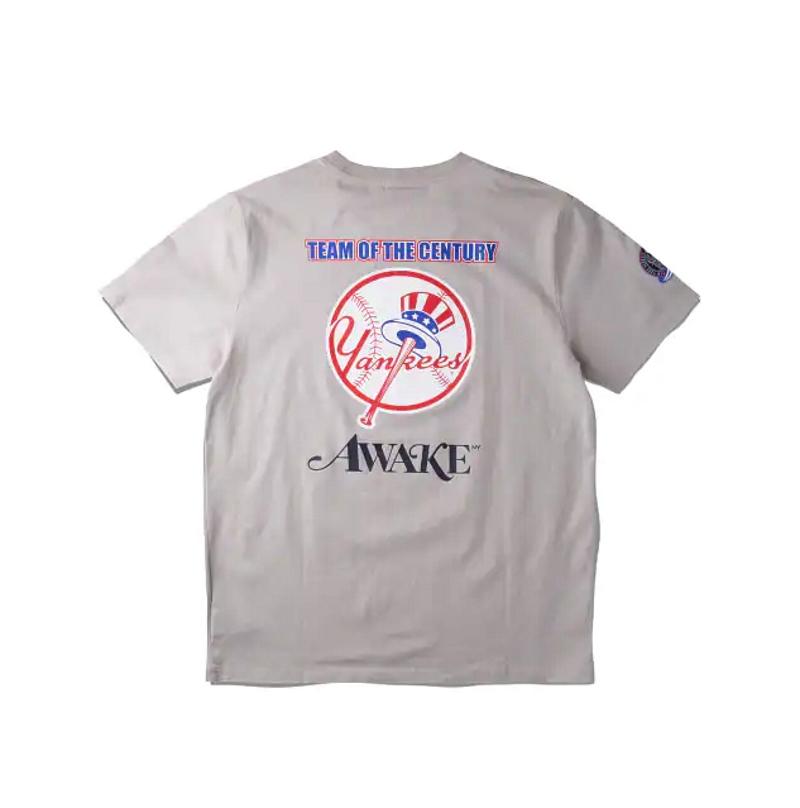 Awake Subway Series Yankees T shirt Gray 1