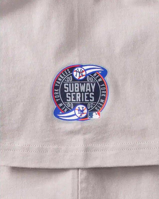 Awake Subway Series Yankees T shirt Gray 2