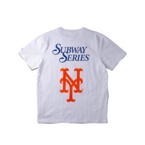 Awake Subway Series Yankees Vs. Mets T shirt White 1