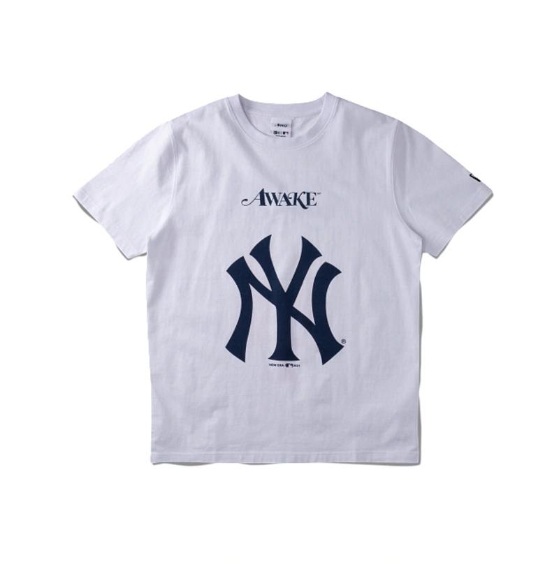 Awake Subway Series Yankees Vs. Mets T shirt White