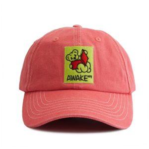 Awake Teddy Hat Coral
