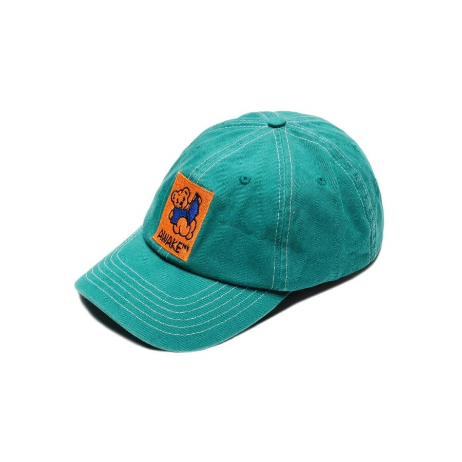 Awake Teddy Hat Teal 1