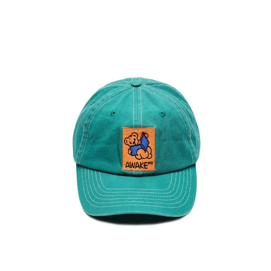 Awake Teddy Hat Teal