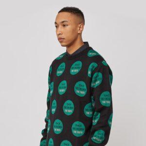 Awake Truth Pullover Sweater Black 1