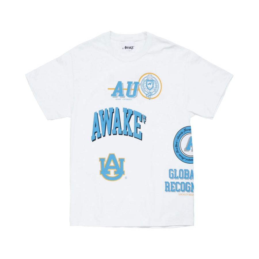 Awake University Tee White